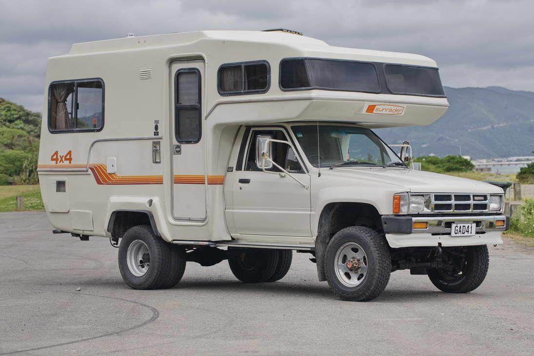 Toyota Hilux 4x4 Sunrader Camping Campers Toyota Camper