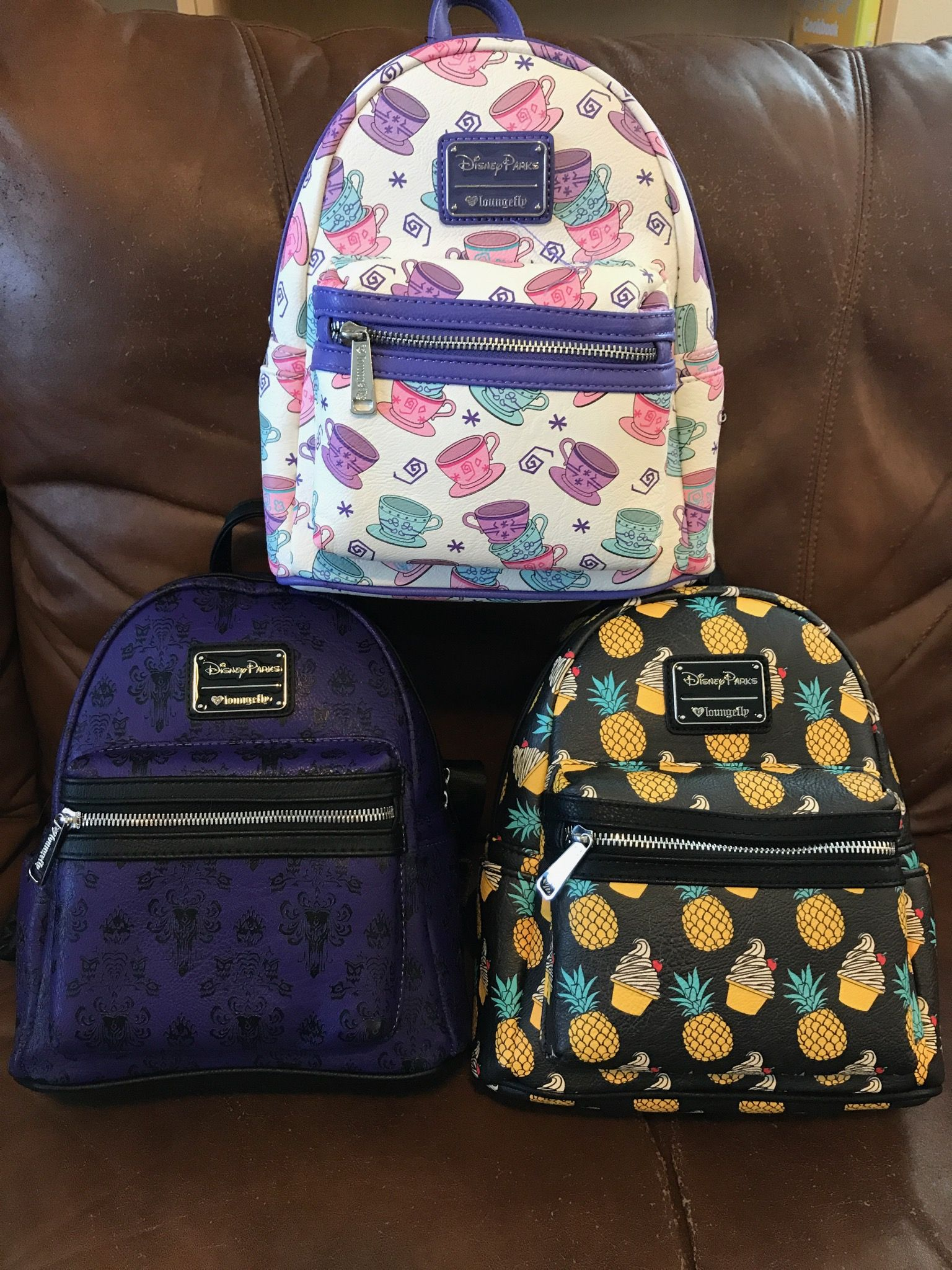 4ed71d9047 Assorted Disney Loungefly Backpacks
