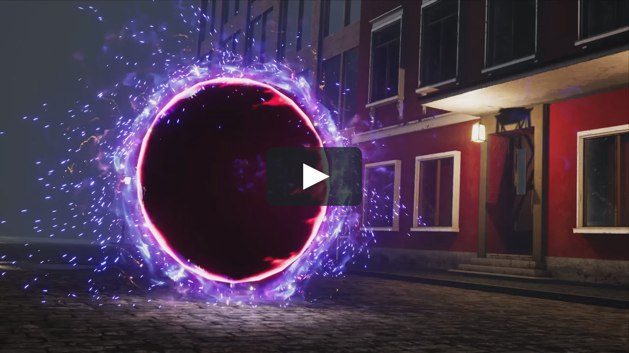 portal effect | Game FX | Portal art, Portal, Game effect