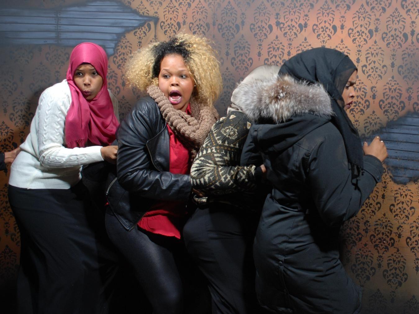 ladies night turns into scream queens inside nightmares fear factory niagara falls best haunted. Black Bedroom Furniture Sets. Home Design Ideas