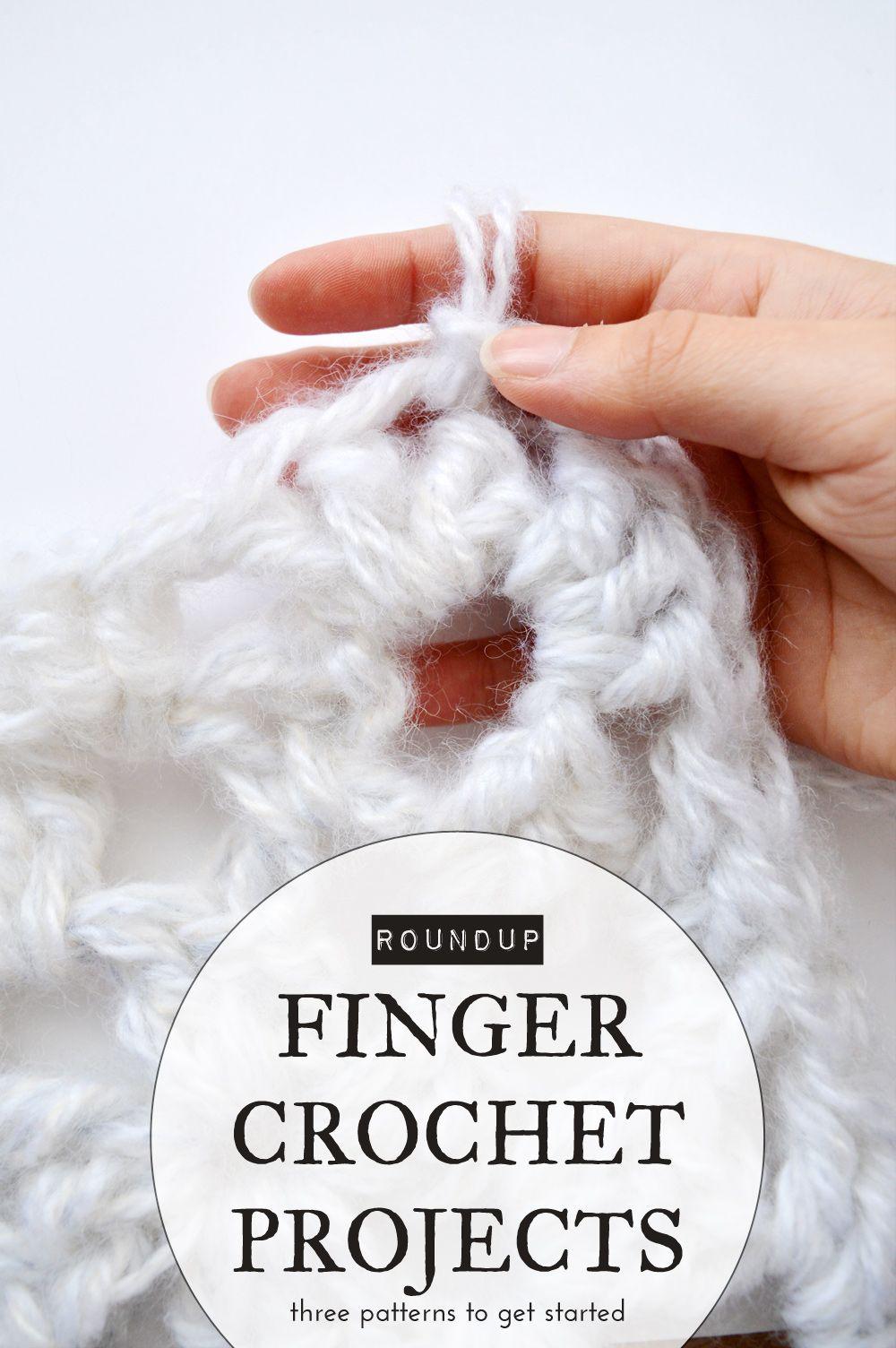Finger crochet projects to get started | Crochet | Pinterest ...