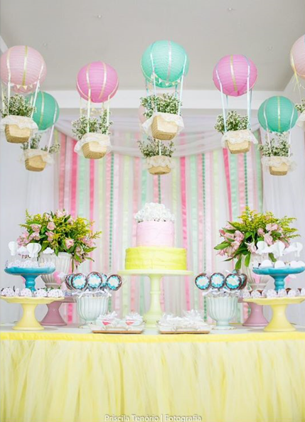101 fiestas: Ideas para tu mesa de dulces con globos ...