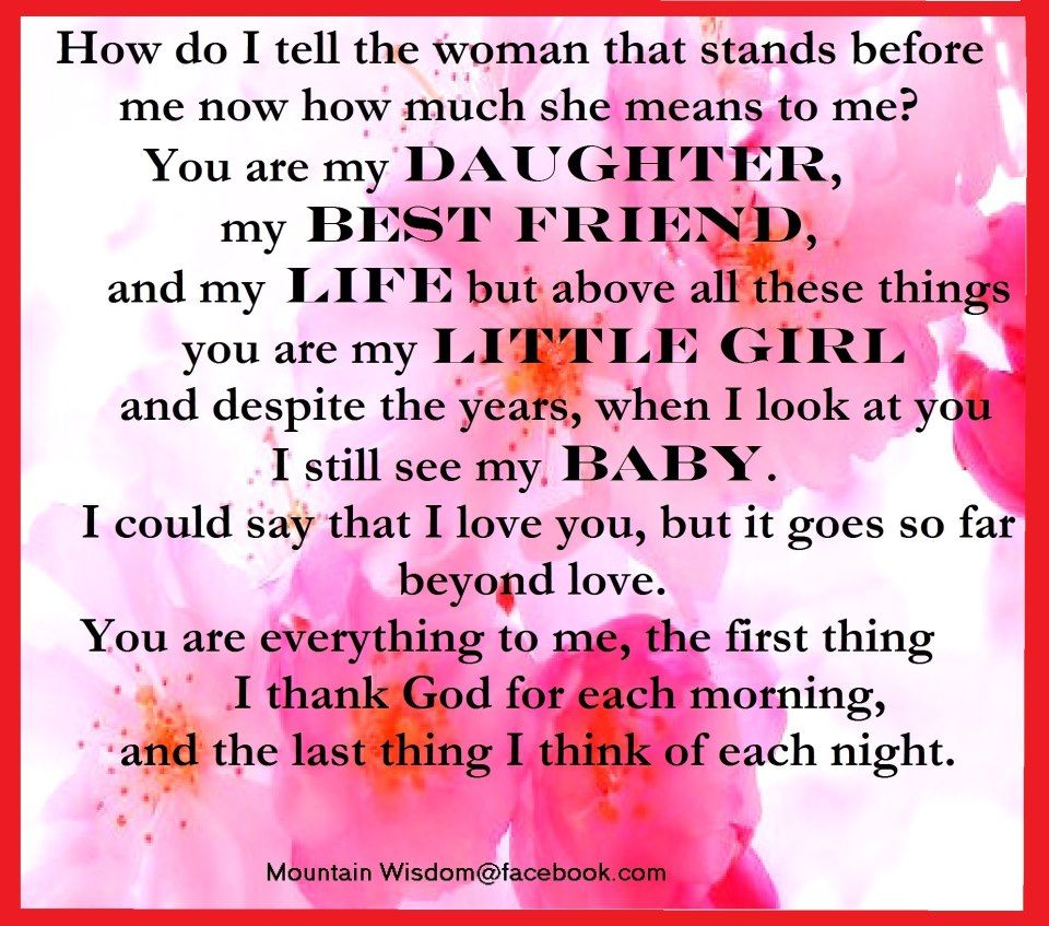 Heartfelt Words Birthday Quotes For Daughter Happy Birthday Quotes For Daughter My Best Friend Quotes