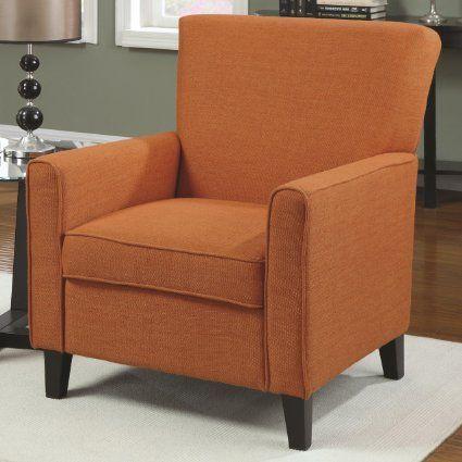 Accent Chair maison Pinterest Orange kitchen, Kitchen dining