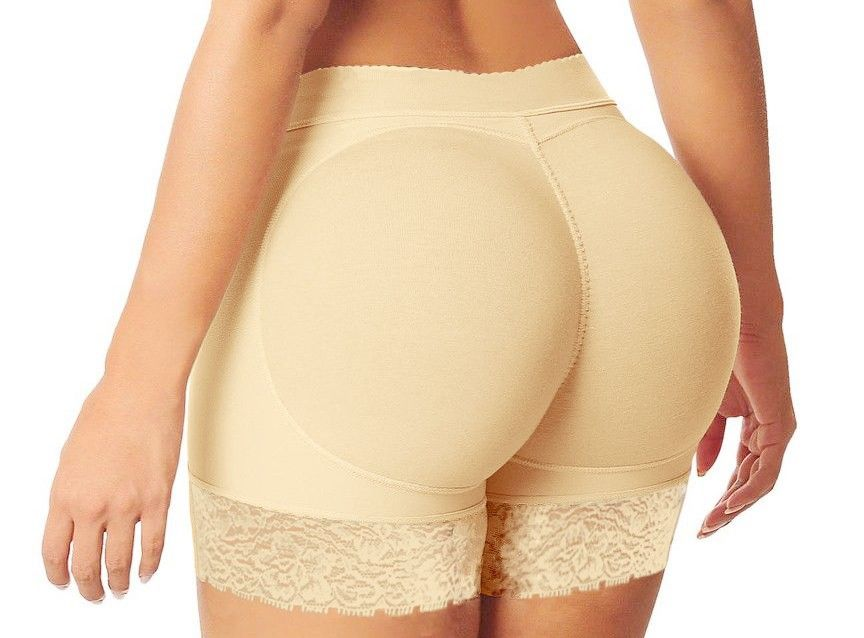 1e0b17e53c6 Women Mesh Butt Enhancer and hip short padded fake ass underwear Butt Lift  Body with padding-in Boy Shorts from Women s Clothing   Accessories on ...