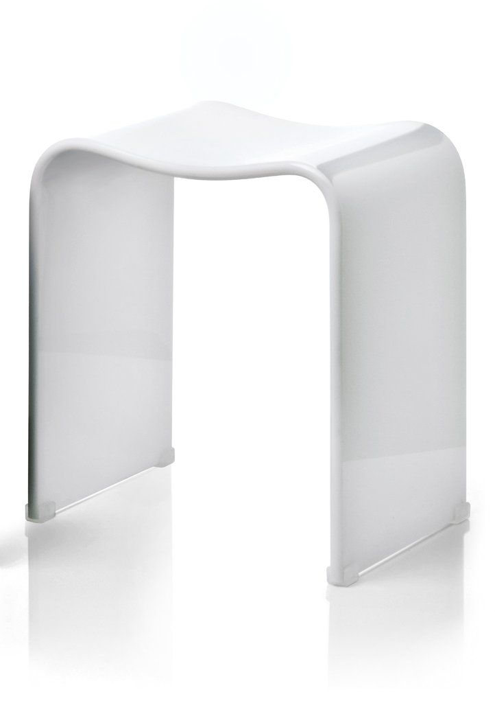 DWBA Backless Archie Shower Bench Stool Chair for Bathroom Shower ...