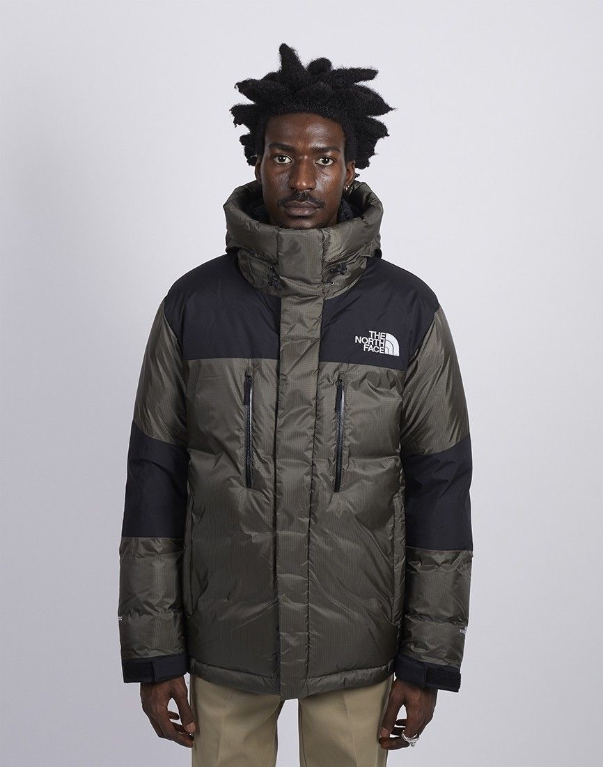 8750795c3 The North Face Himalayan Windstopper Down Jacket Green & Black ...
