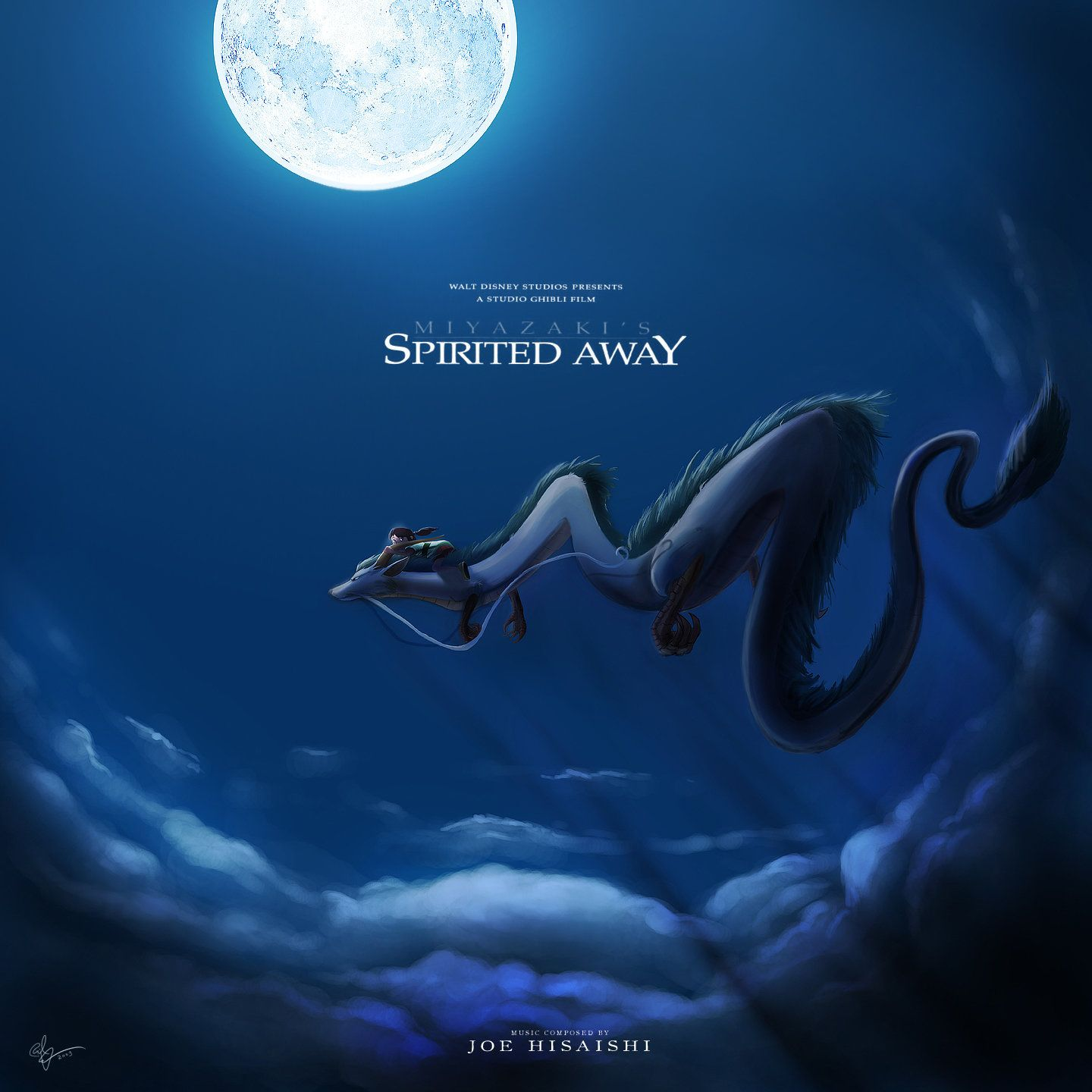 Spirited Away Custom CD Cover by lord-phillock on DeviantArt