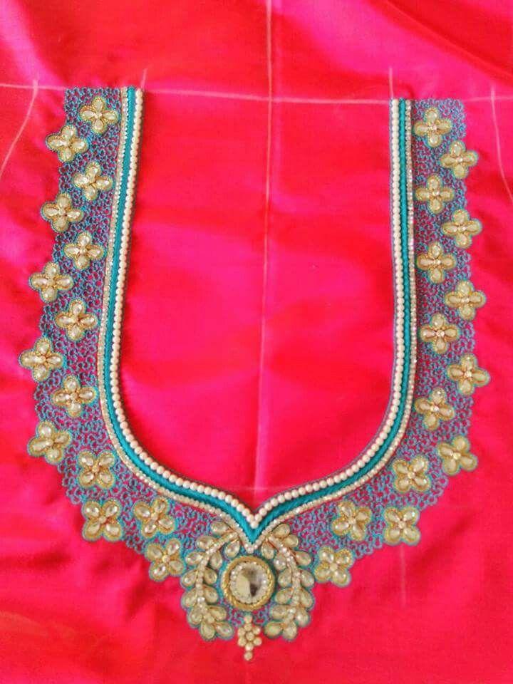 Pin By Malathi Tvs Manian On Saree Blouses Pinterest Blouse
