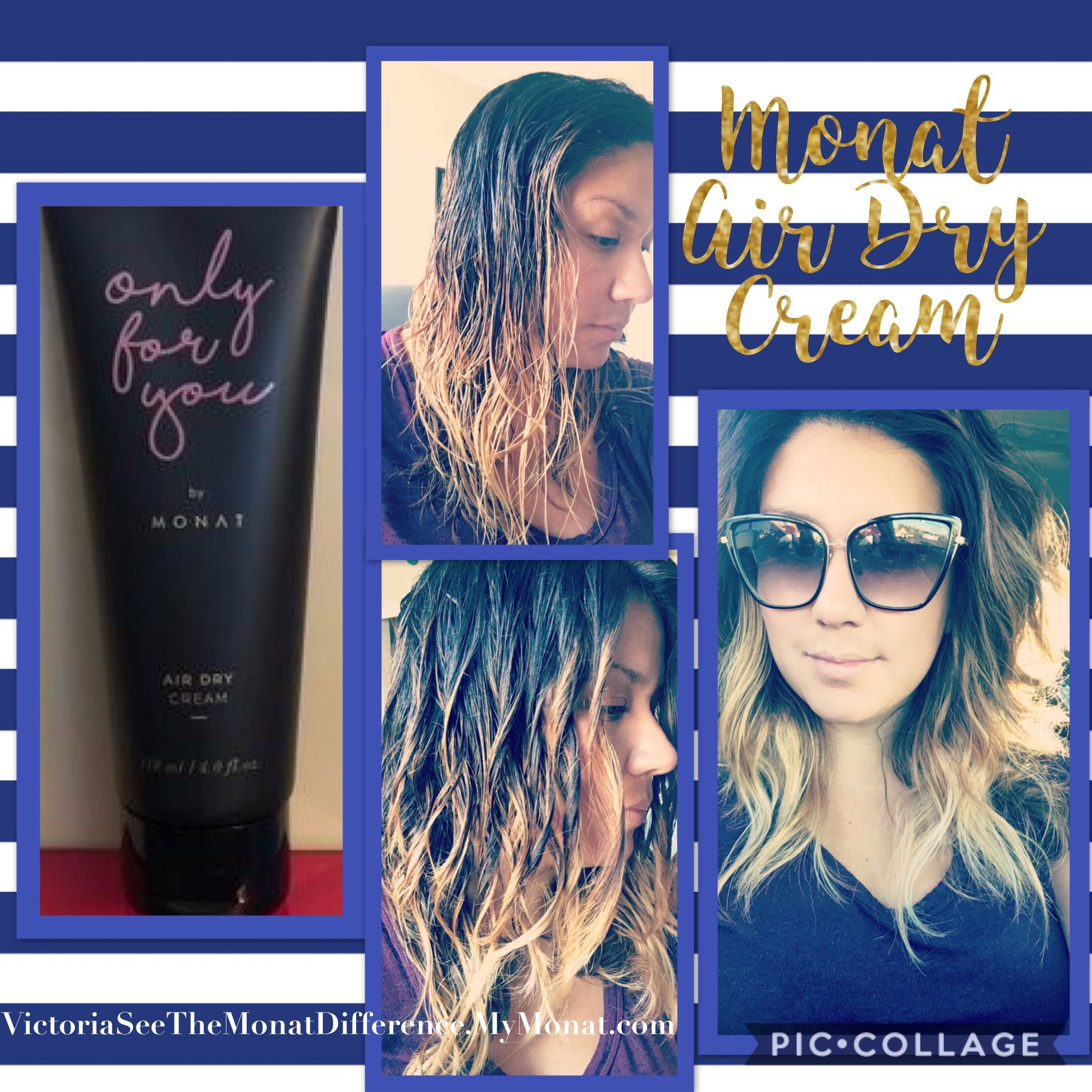 Monat Air Dry Cream Only For You Air dry hair, Monat