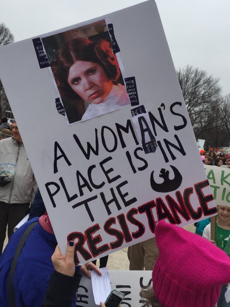 The Sign Game Is Strong At The Women S March Womens March Signs March Signs Womens March