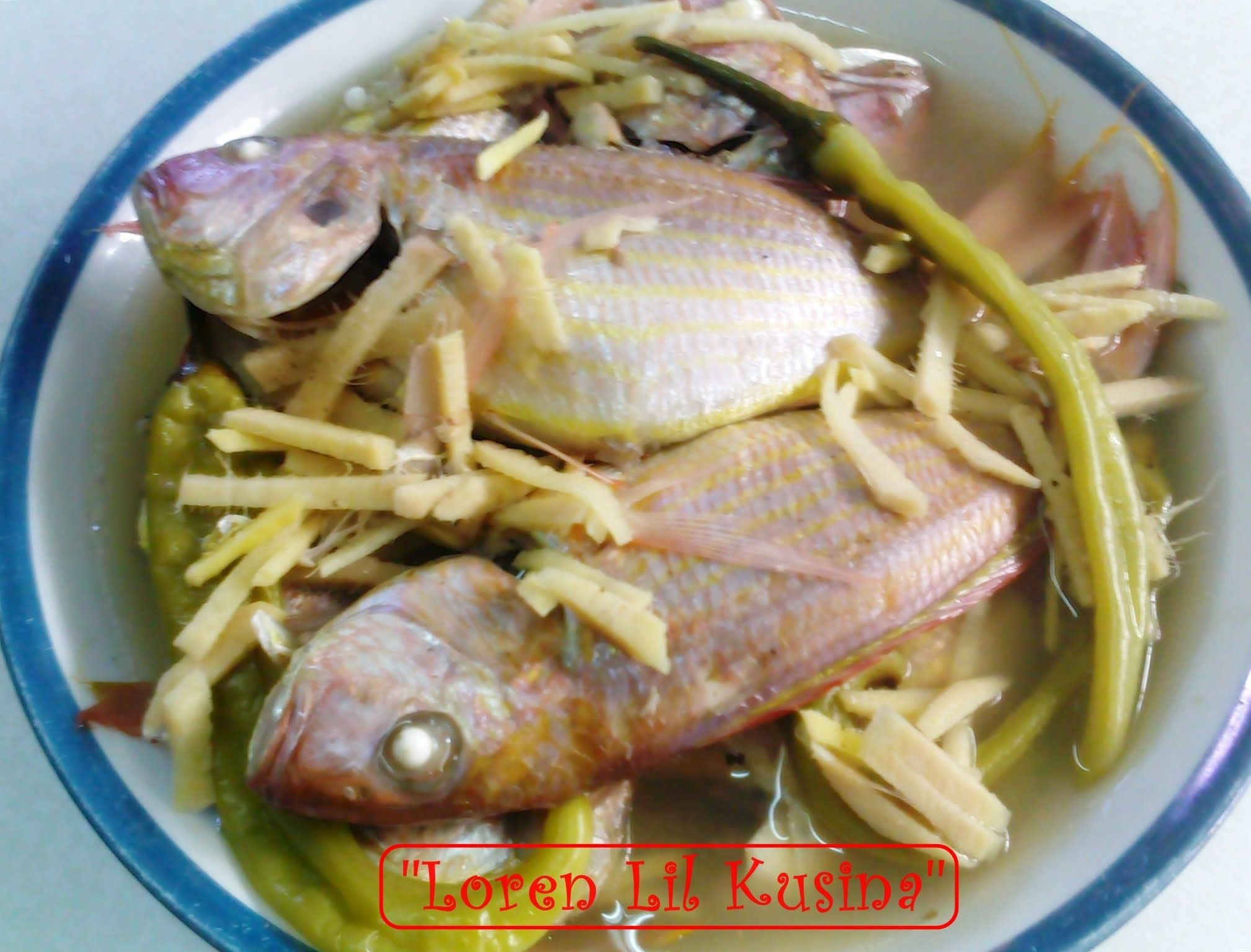 Paksiw na bisugo fish in vinegar a popular filipino dish for Filipino fish recipes