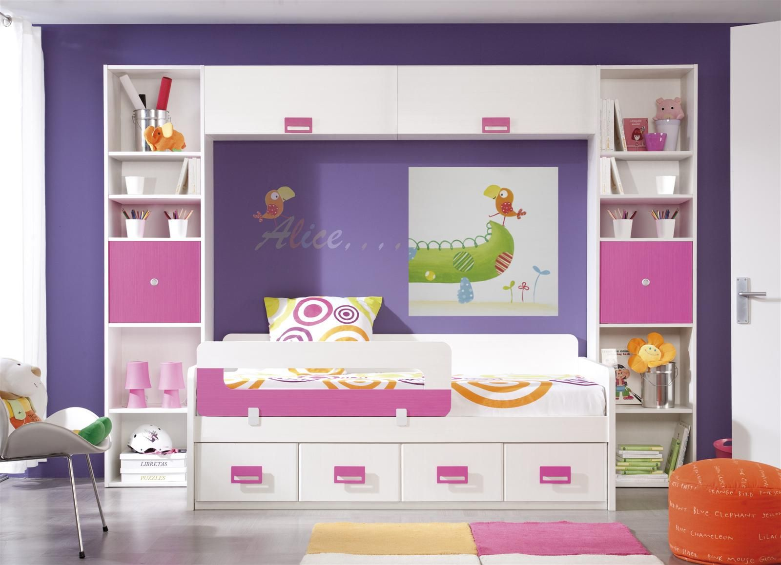 Dormitorios juveniles buscar con google dormitorios muebles muebles infantiles y - Muebles habitacion pequena ...