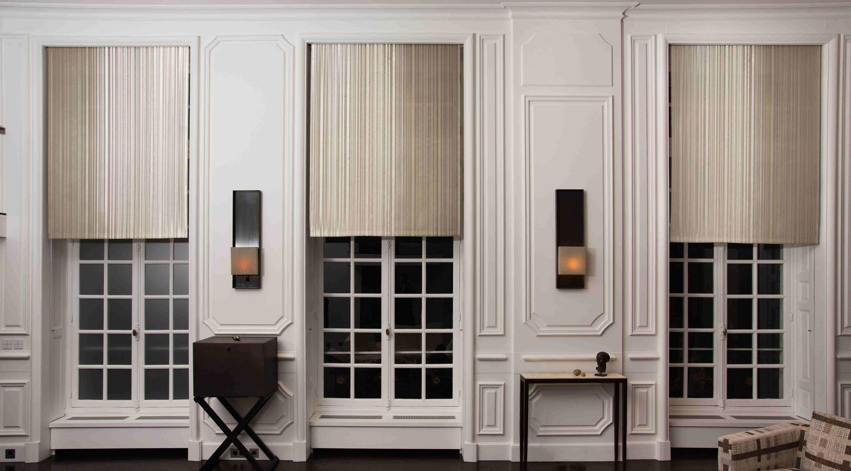 N white gold indoor application roller shades living room