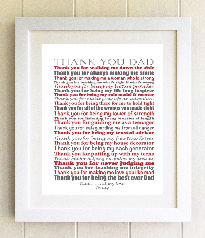 dad poem dad wedding poem reading father of the bride gift. Black Bedroom Furniture Sets. Home Design Ideas