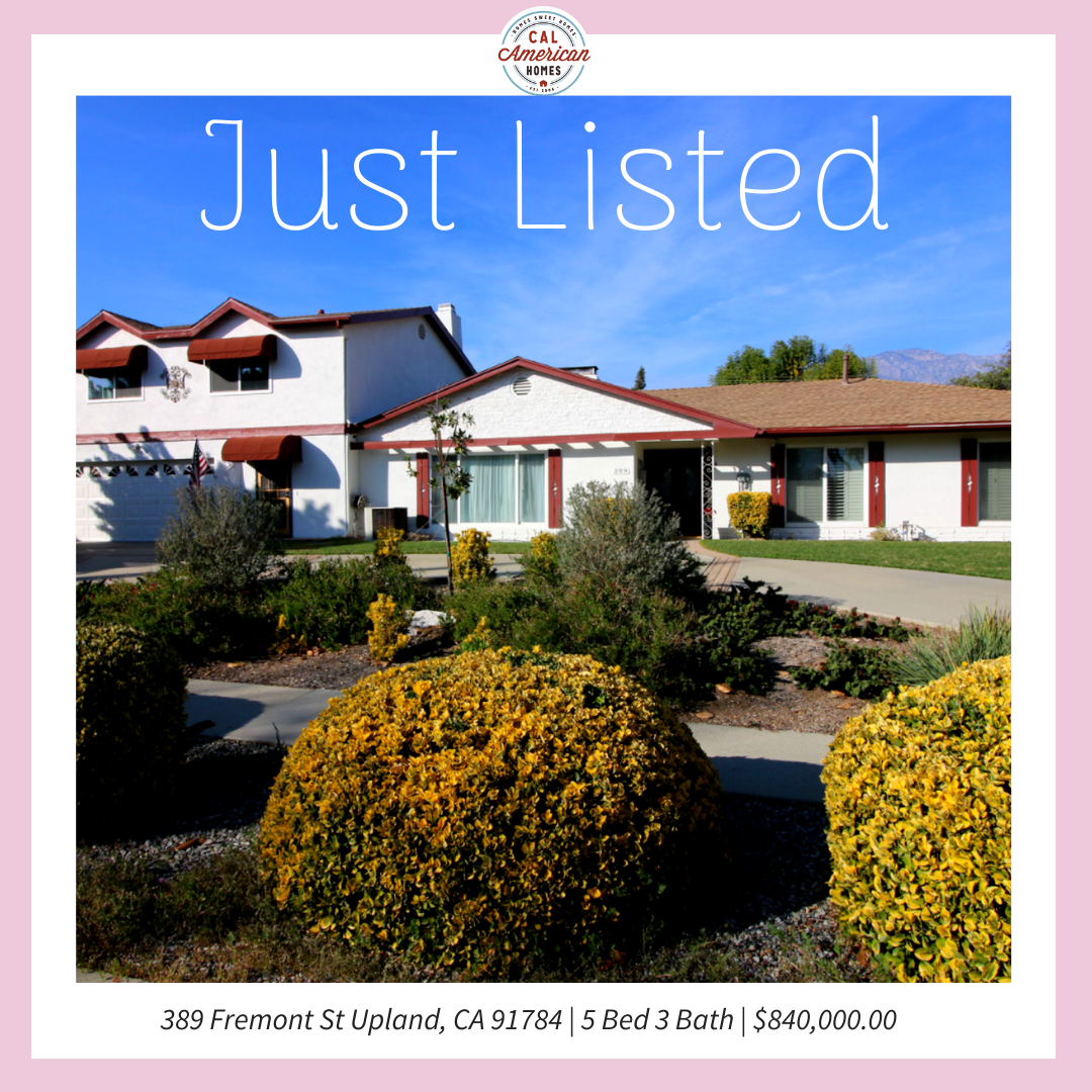 Just Listed 89 Fremont St Upland Ca 91784 In 2021 Real Estate Sale House Real Estate Companies