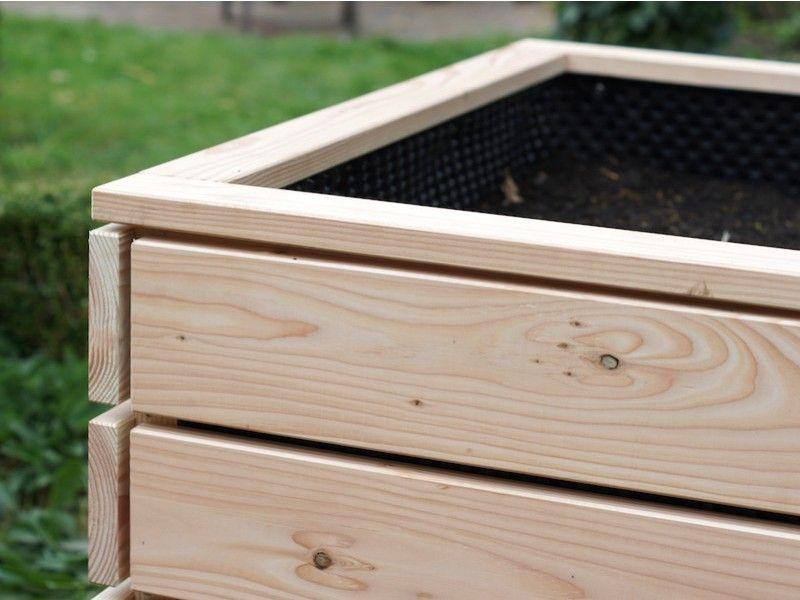 Hochbeet Holz Lange 200 Cm In 2020 Hochbeet Holz Hochbeet Douglasie
