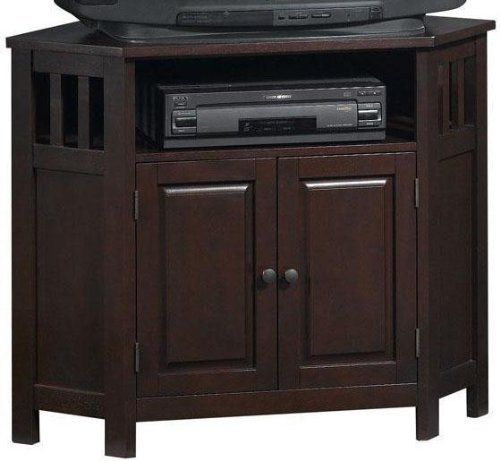 Mission Style Corner Tv Stand Corner Chestnut By Home Decorators Collection Http