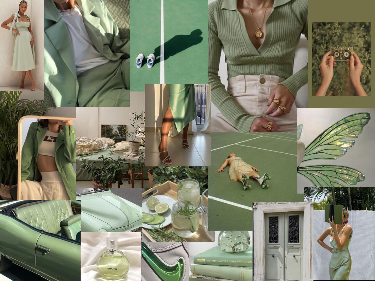 See more ideas about sage green wallpaper, green wallpaper, green aesthetic. Sage Green Collage | Sage green, Green computing, Desktop ...