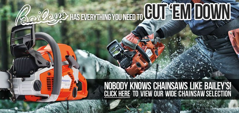 Husqvarna Chainsaws Outdoor Power Equipment And Tree Care Supplies From Bailey S Outdoor Power Equipment Husqvarna Tree Care