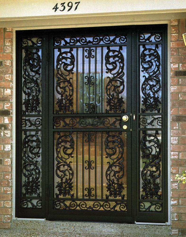 Incroyable Decorative And Secure Door Grate And Entryway. Learn More About These    Http:/