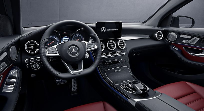 Build Your Own Audi >> Image result for RED MERCEDES GLC INTERIOR | I want this! | Vehicles, Interior, Red