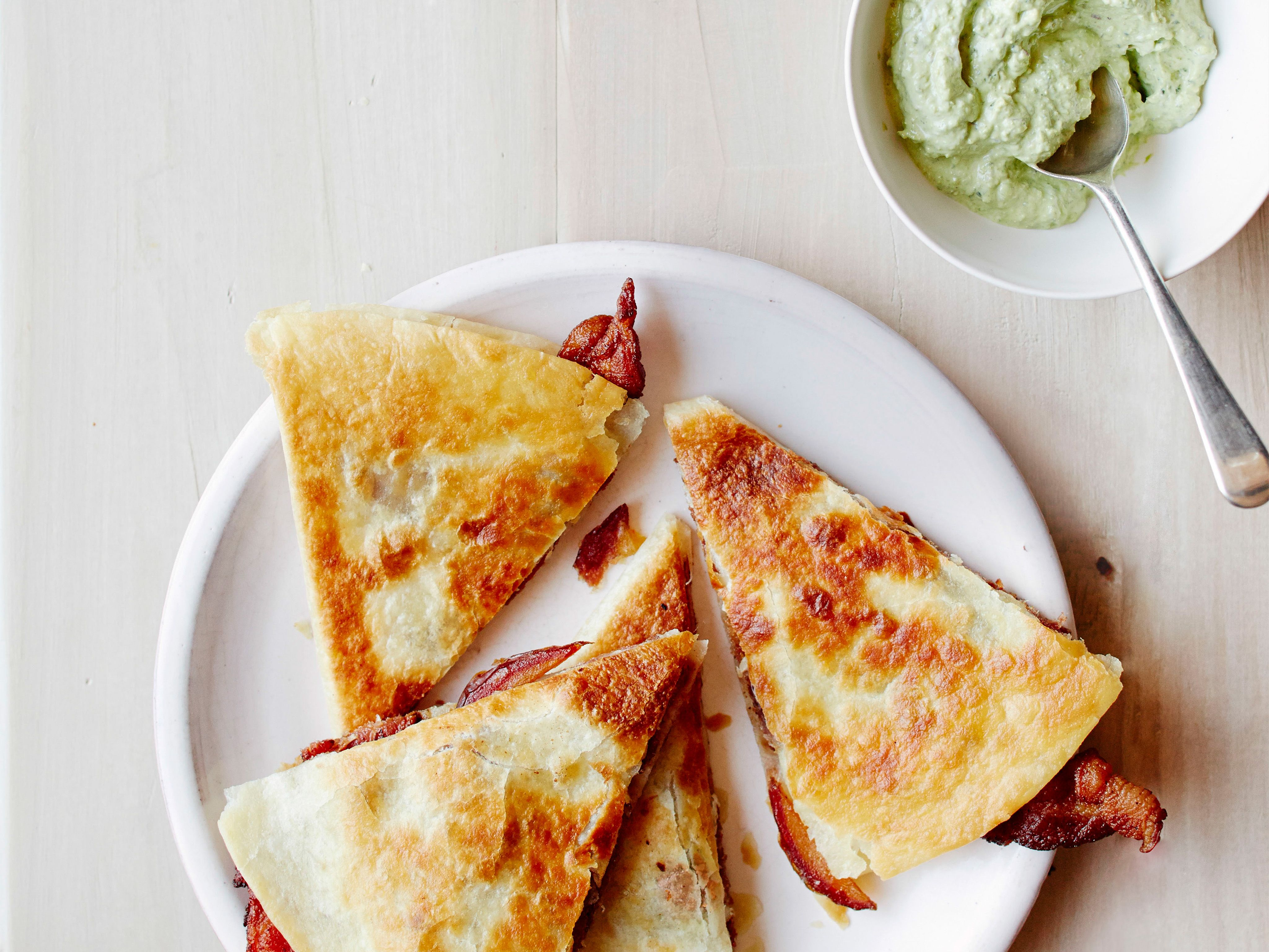 Bacon, Date and Manchego Quesadillas   Recipe ...