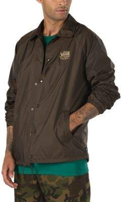 Vans Torrey Camo Coaches Jacket | Coach jacket, Jackets