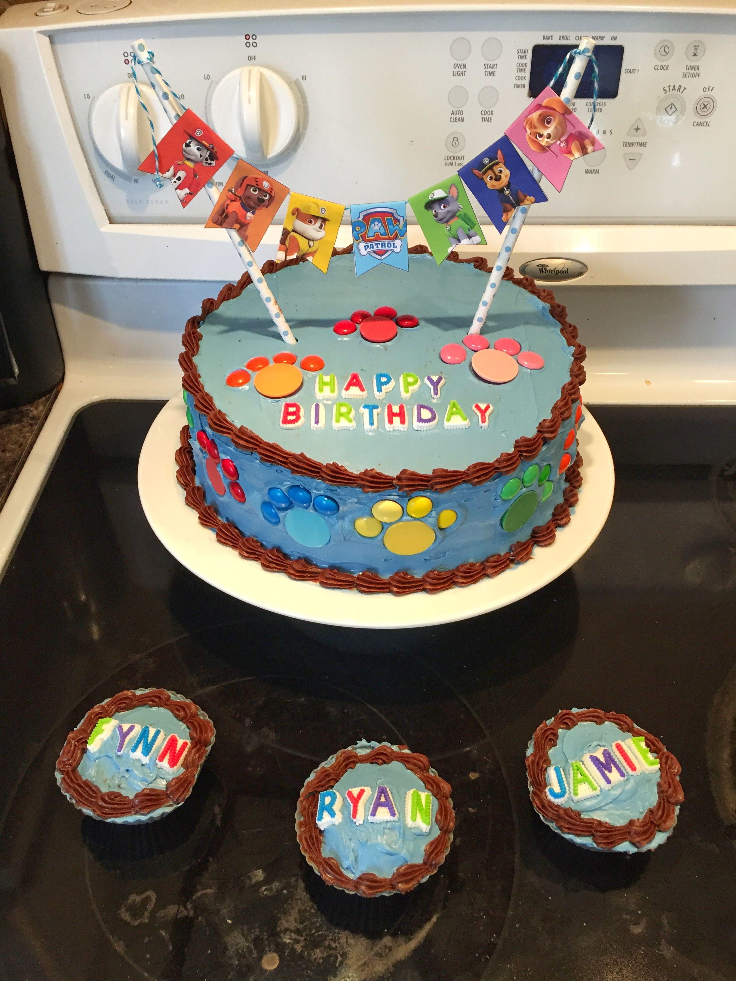 Astounding Diy Paw Patrol Cake Paw Patrol Birthday Cake Diy Paw Patrol Funny Birthday Cards Online Sheoxdamsfinfo