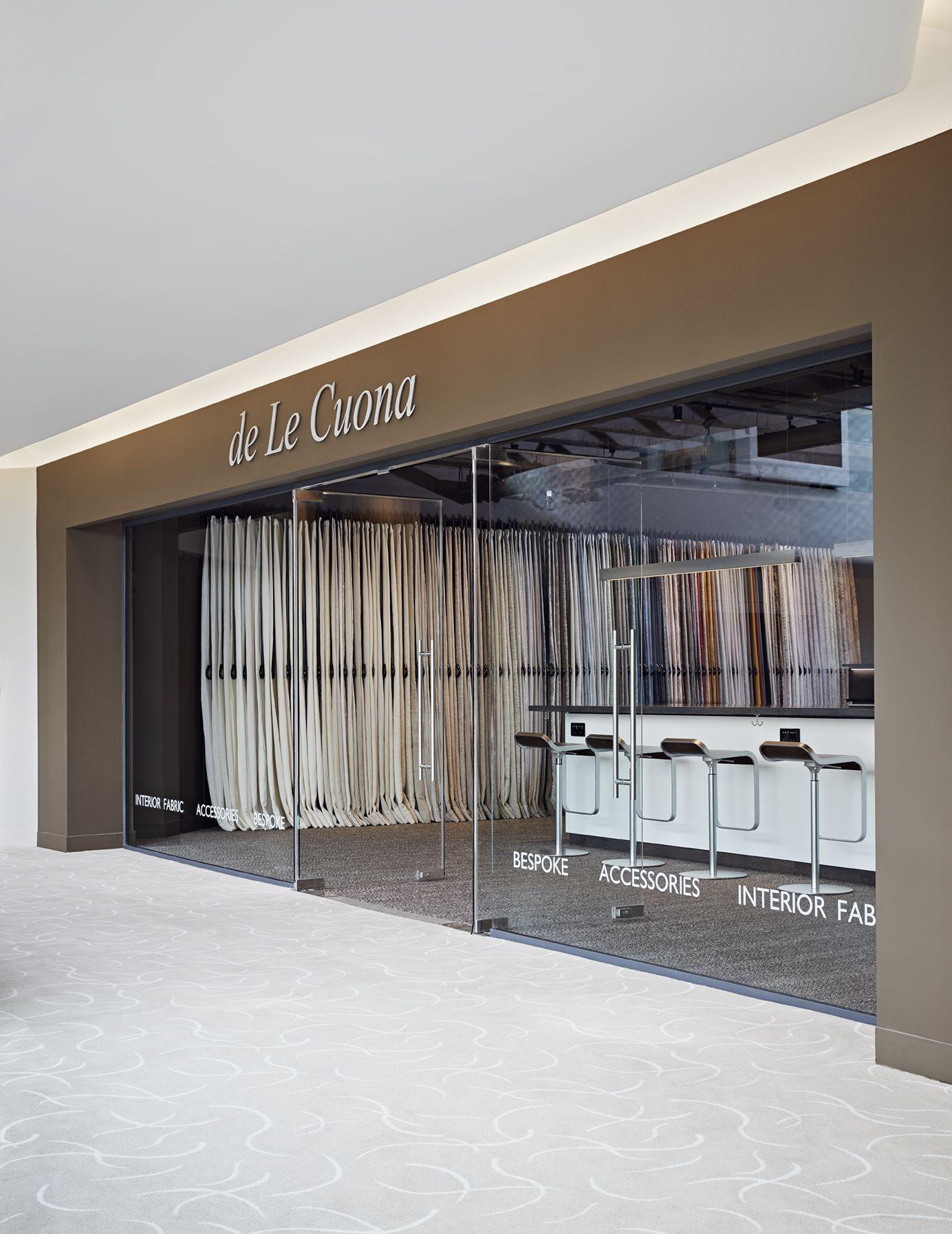 de Le Cuona Showroom in Design Centre Chelsea Harbour London