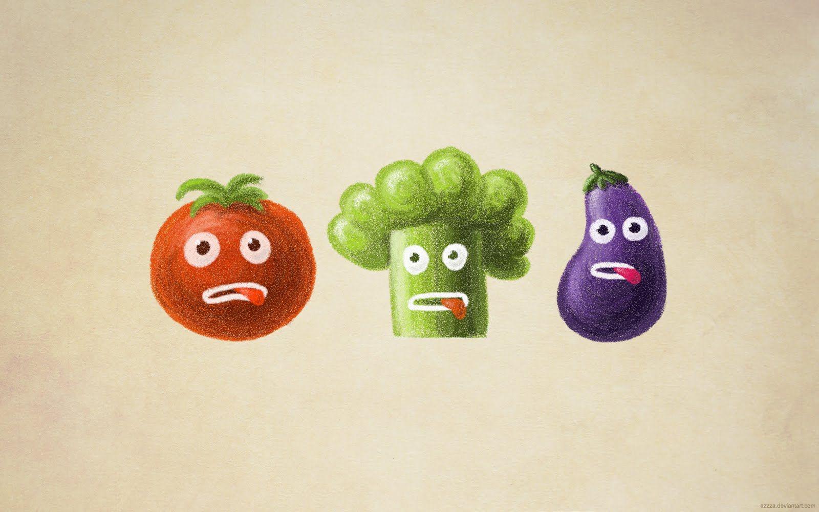 My Grinning Mind Desktop Wallpapers Funny Vegetables Vegetable Cartoon Funny Cartoon