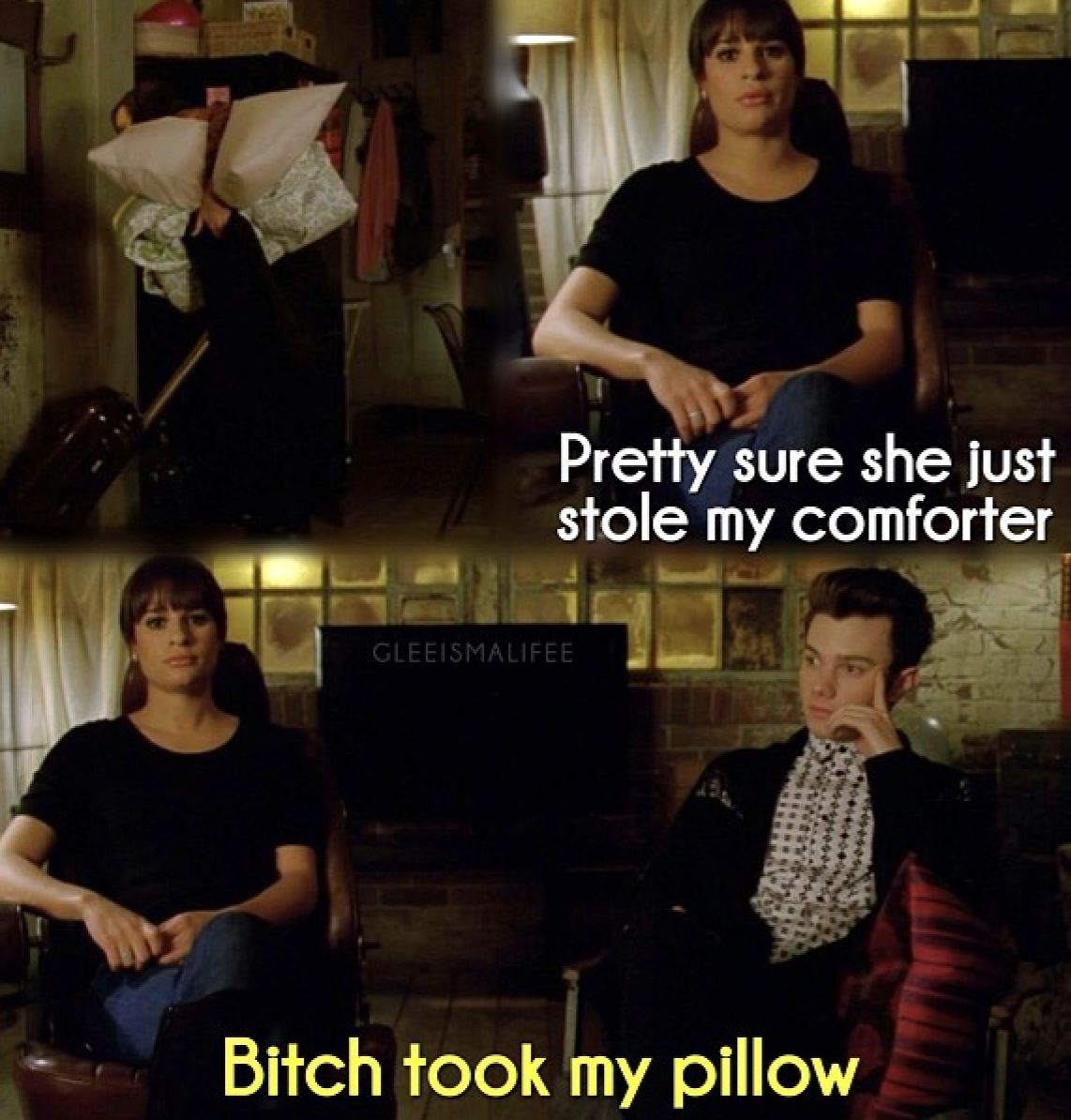 Santana is the best. The Rachel and Kurt Show in New York is so much better with her there.