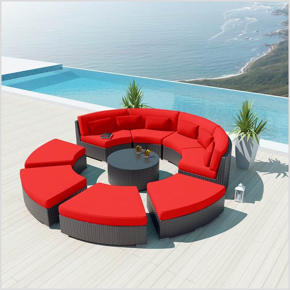 43 Reference Of Couch Round Outdoor In 2020 Sectional Patio Furniture Garden Sofa Set Outdoor Couch