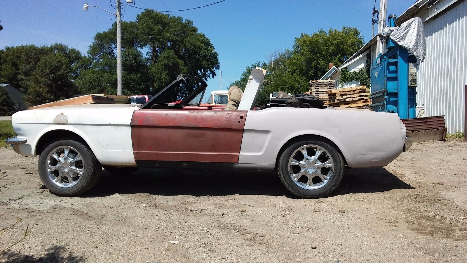 No drivetrain 1965 Ford Mustang CONVERTIBLE project | Project cars ...