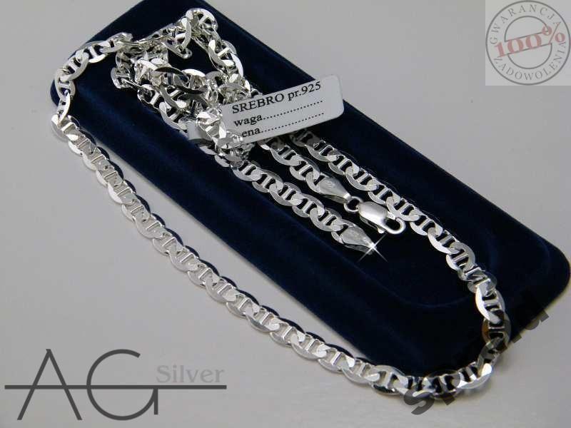 Lancuszek Srebrny Gucci Pr 925 60 Cm 50 Silver Diamond Bracelet Diamond