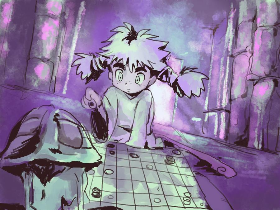 Gungi By Moonshen On Deviantart Meruem And Komugi Hunter X Hunter Fan Art Anime Shadow Of The Colossus Sinopsis gungi × of × komugi. komugi hunter x hunter fan art