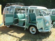 VW Samba Bus with Roof Rack