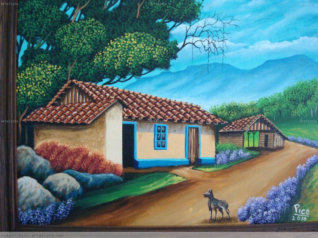 Image detail for casas viejas de costa rica edgar - Cuadros de casas ...