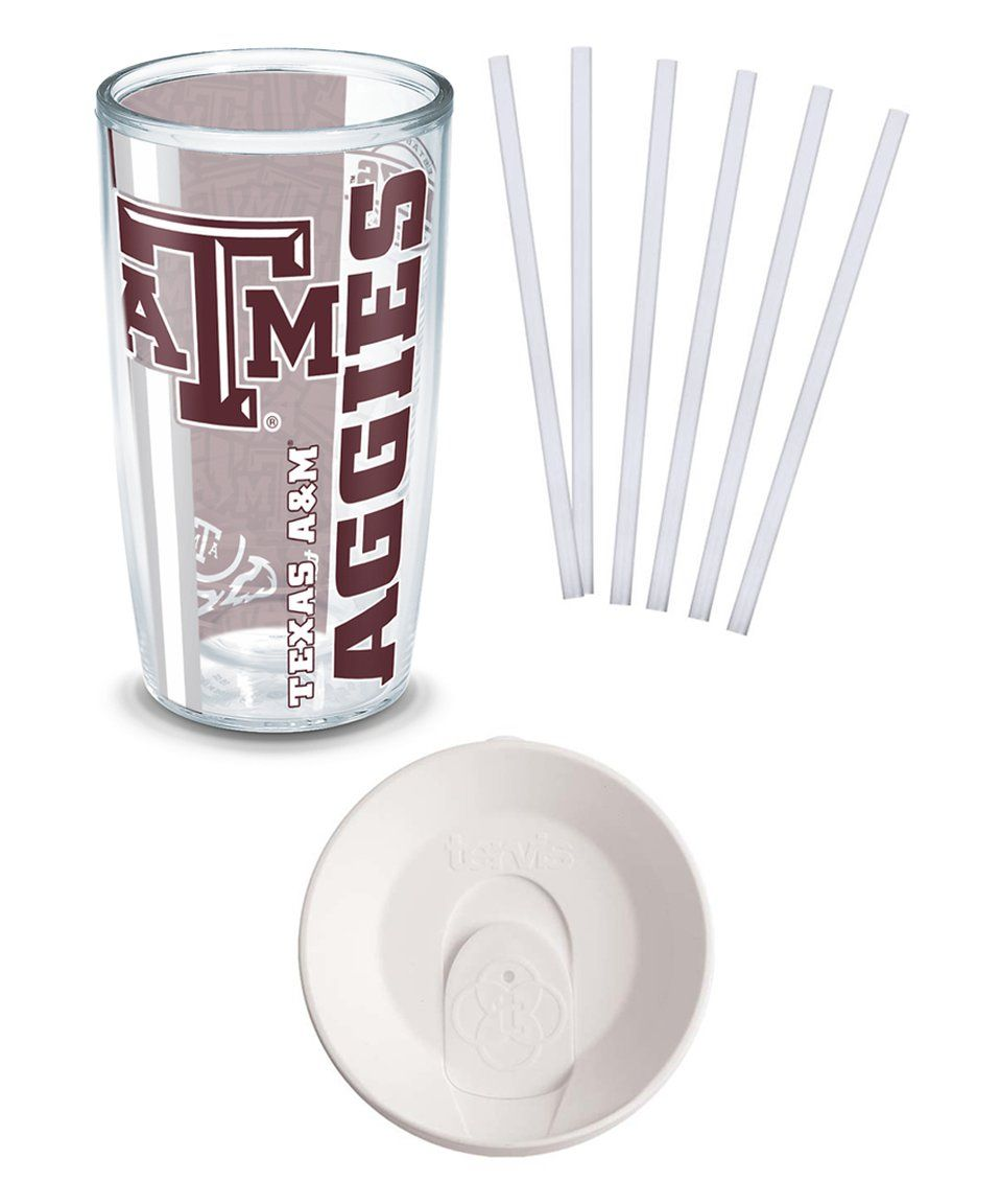Love this Texas A&M Aggies 16-Oz. College Pride Tumbler Set by Tervis on #zulily! #zulilyfinds