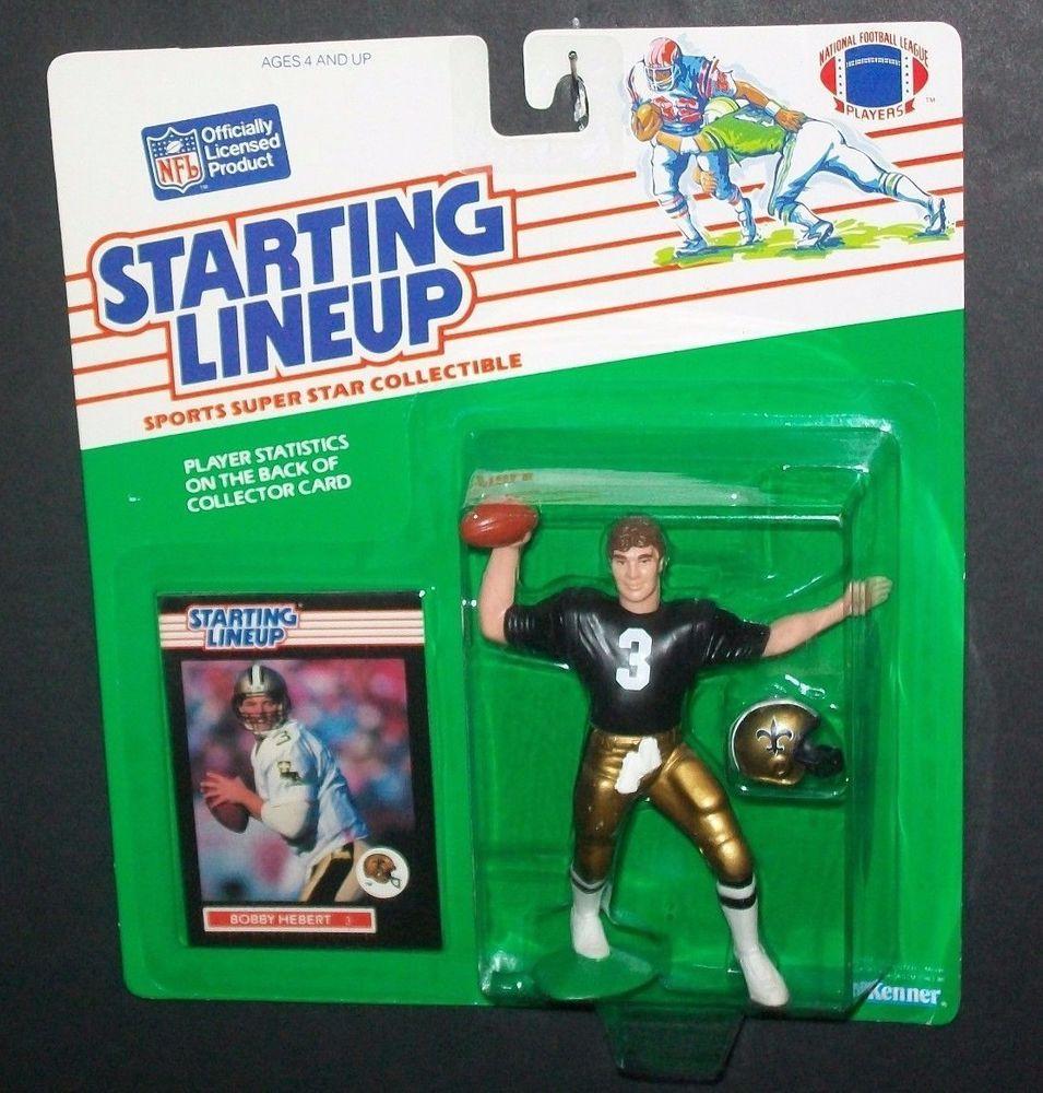 Bobby Hebert New Orleans Saints 1989 Nfl Starting Lineup Football Figure Startinglineup New Orleans Saints Lineup New Orleans