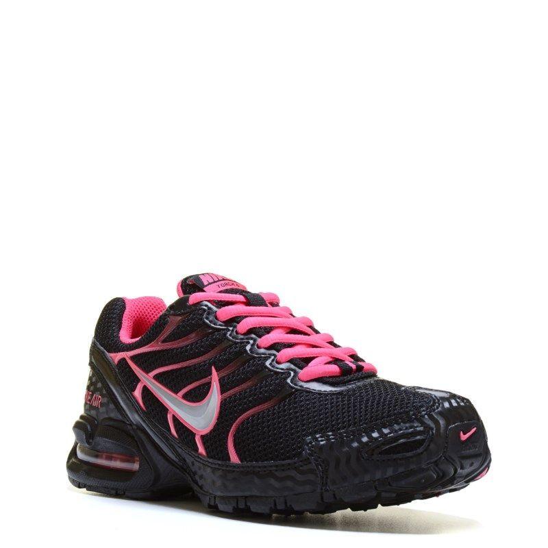 c9eefb47a1f21 Nike Women s Air Max Torch 4 Running Shoes (Black Vivid Pink ...