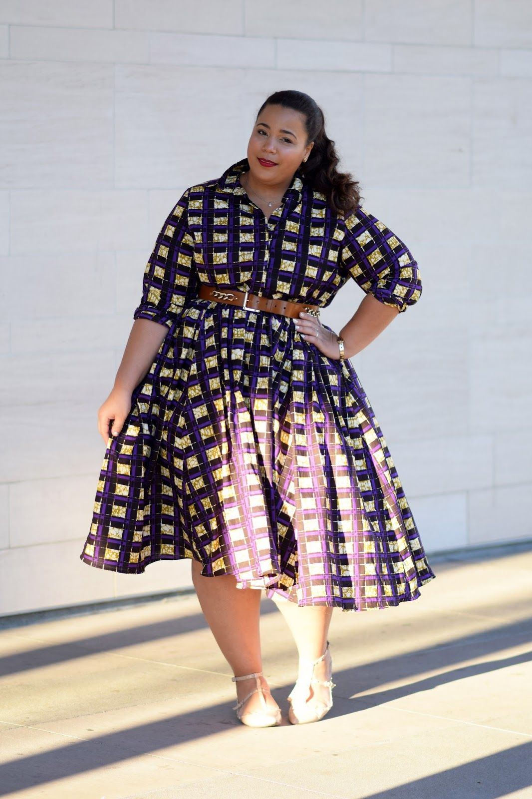 Shadows of Purple (Garnerstyle) | Plus size fashion for ...
