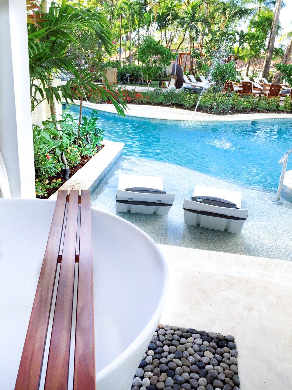Swim-up suites at Sandals Barbados #sandals #romance #barbados #honeymoon #caribbean