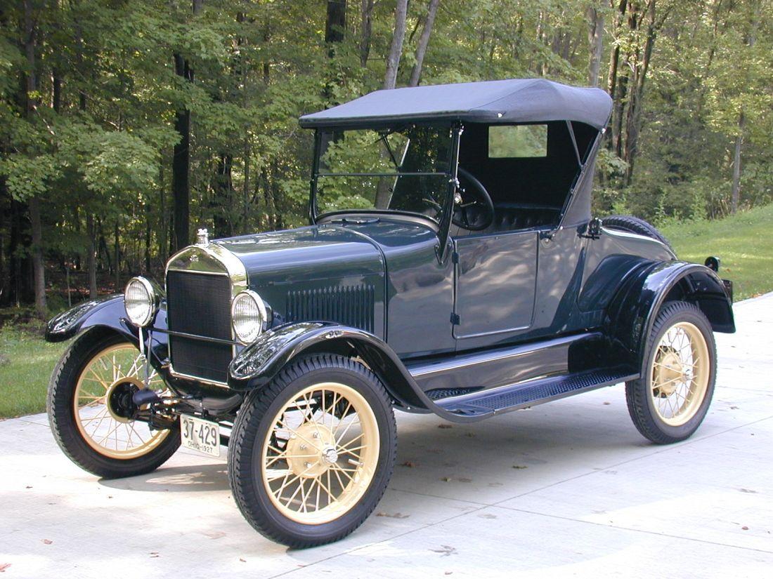 100 anos do Ford modelo T | Oldtimer, alte Autos und Autos