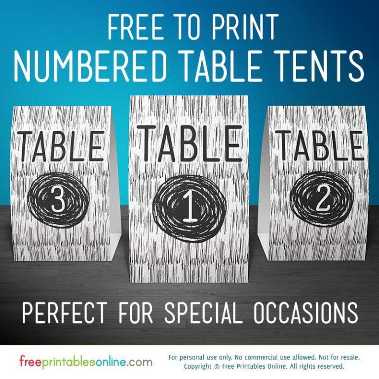 Free Printable Vector Wood Table Number Signs Free Printables Online Wood Table Numbers Free Printables Printables