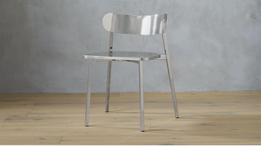 fleet brushed nickel chair | 1 Sutter | Pinterest | Brushed nickel ...