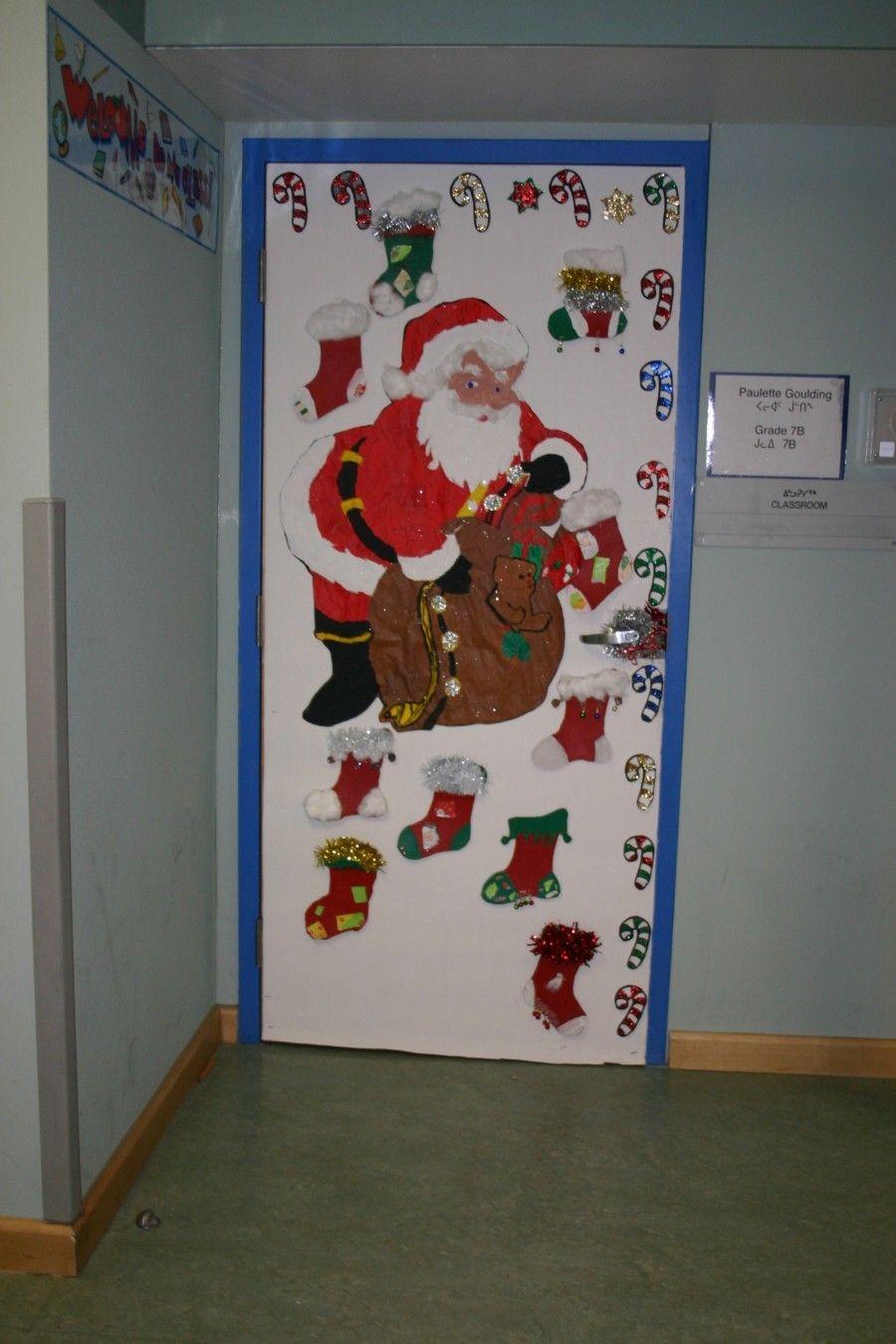 Image result for classroom door art christmas pinterest