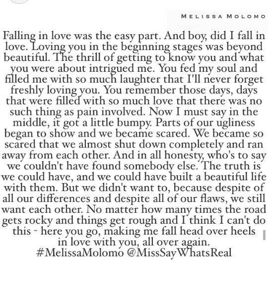 Melissa Molomo I love reading these quotes