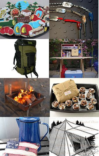 Let's go camping!! by M. Cathy Wilson on Etsy--Pinned with TreasuryPin.com
