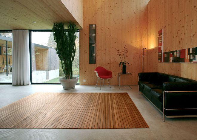 alfombras de madera para tu hogar | ideas para el hogar | pinterest
